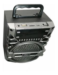 Parlante Bluetooth Portatil Portable Recargable Despertador