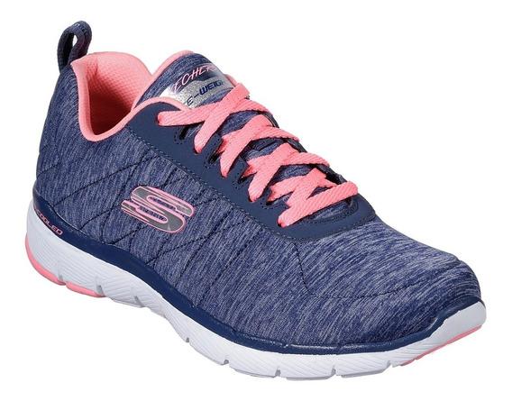 Zapatillas Skechers Flex -oferta - Livianas- Mujer- Salas