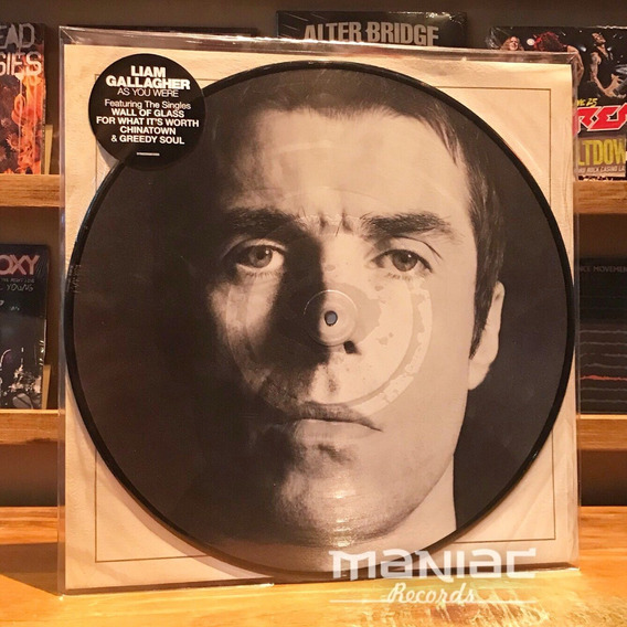 Liam Gallagher As You Were Vinilo Picture Oasis