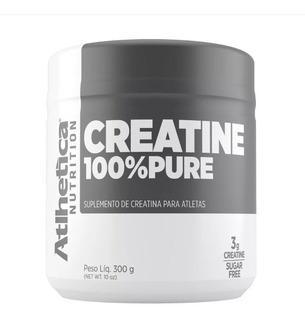 Creatina Monoidratada 100% Pure 300g - Atlhetica Nutrition