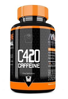 Termogenico C420 90 Caps Cafeina 210mg Mw Suplementos