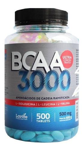 Imagem 1 de 9 de 2x Bcaa Forte 3000mg (1000 Tabletes) - Lavitte