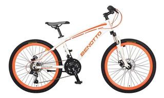 Bicicleta Benotto Mtb Landstar R24 21v. Shimano Aluminio