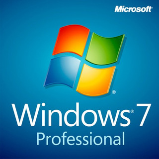 Windows 7 Professional 32/64 Bits!