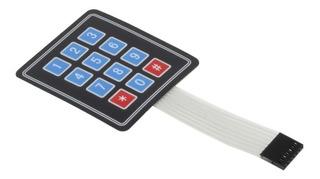 Teclado De Membrana Com 12 Teclas - 4x3 - Arduino Diy