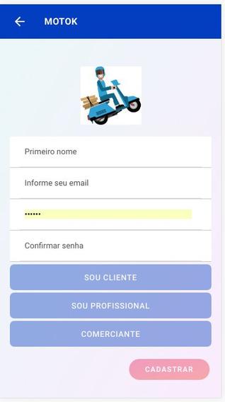 Motok - Aplicativo Uber-style Para Entrega De Motoboy