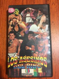 Vhs- Lucha Libre- Los Asesinos Del Ring-videomax