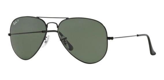 Oculos Sol Ray Ban Aviador Rb3025 002/58 58mm G15 Polarizado