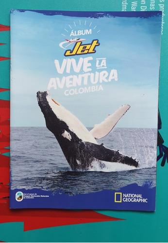 Imagen 1 de 5 de Album Jet Vive La Aventura Colombia