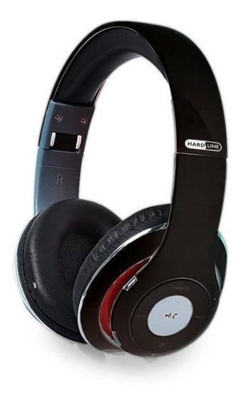 Fone De Ouvido Bluetooth Tm010 Hardline Preto Fm + Ent.sd