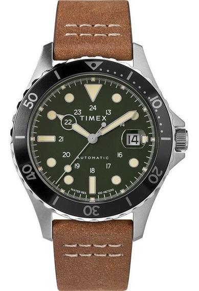 Relógio Timex Automatic Navi Xl Tw2u09800zv