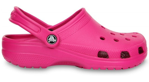 Crocs Originales Classic Candy Pink Mujer
