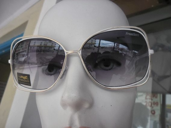 Óculos De Sol Mascara Feminina Freedom Original C/ Certifica