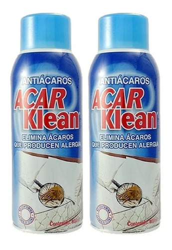 Antiácaros Acar Klean Spray -  550ml X - L a $636