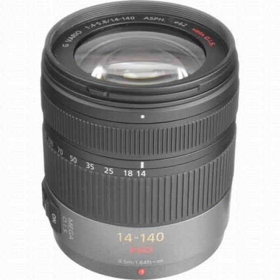 Lente Zoom Panasonic Lumix 14-140mm Micro 4/3
