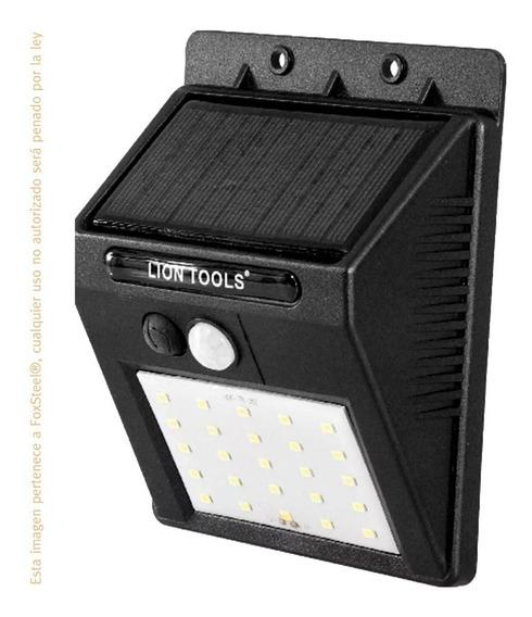 Lámpara Solar Con Sensor De Movimiento Y Luz Led Lion Tools