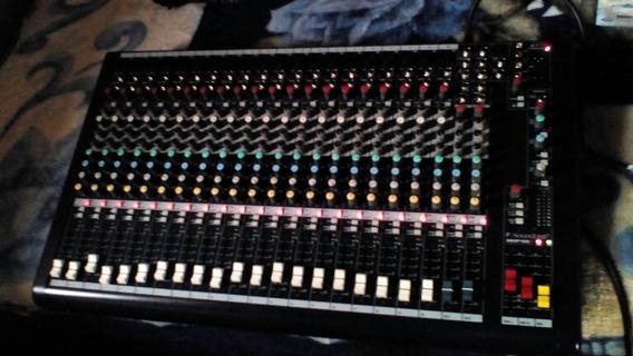 Mesa De Som Soundcraft Mpmi 20