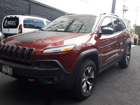 Jeep Cherokee Trailhawk 4x4 Color Rojo 2017