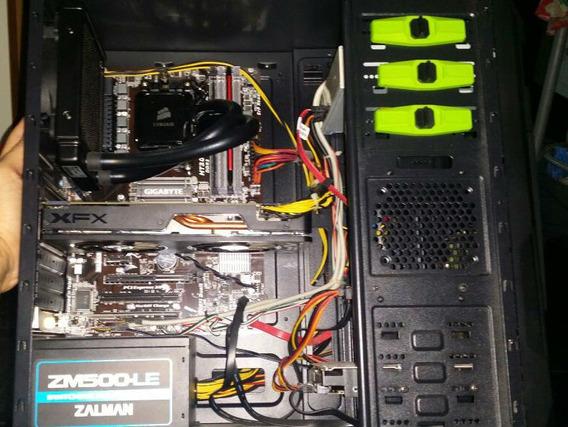 Pc Amd Fx-8350 Vishera, Watercooler, Ssd E Radeon
