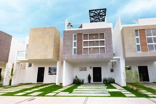 Casa Nueva En Venta Privada Junipero Roof Garden Queretaro