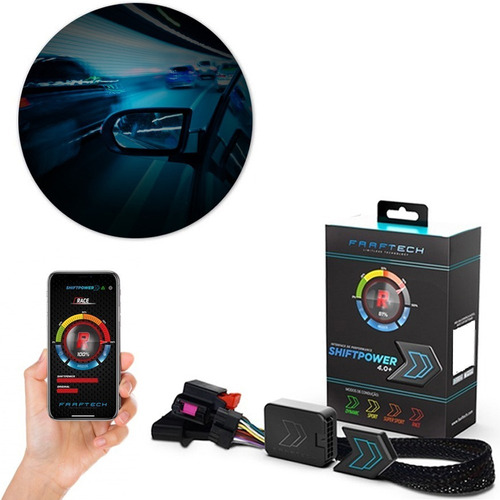 Shift Power Novo 4.0+ Chip Acelerador Plug Play Bluetooth