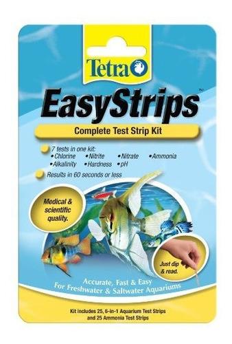 Imagen 1 de 1 de Tetra Easystrips - Kit Completo De Prueba Para Acuarios