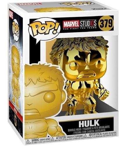 Funko Pop Marvel Ms 10 Hulk 379 Wabro Distribuidora Lv