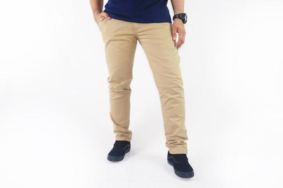 Calça Jeans Ou Sarja Masculina Slim Fit C Lycra Promoção