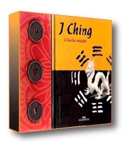 I Ching O Livro Das Mutações Box Com 3 Moedas Bronze