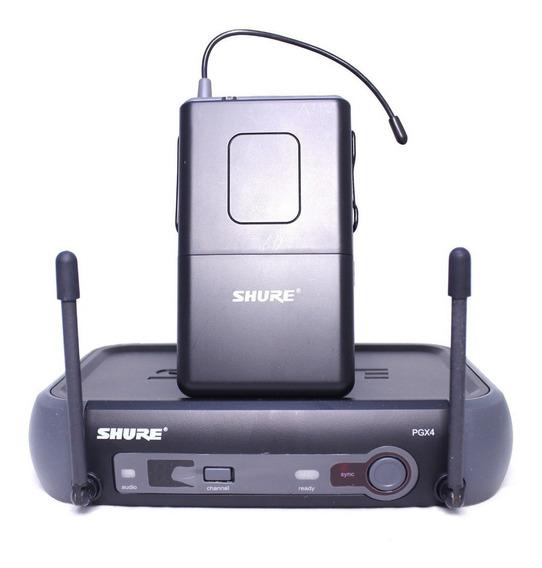 Sistema Shure S/fio Para Instrumento Pgx 14 Com Lapela
