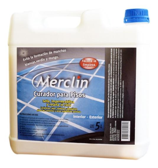 Curador Hidrofugo Para Pisos 5 Litros Merclin - Rex