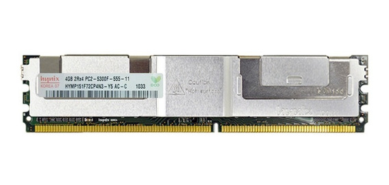 1 Memoria 2rx4 Fbdimm 4gb Pc2-5300f Dell Poweredge 1900 1950