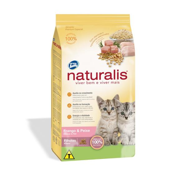 Concentrado Para Gato Naturalis Kitten Todas Las Razas Pollo
