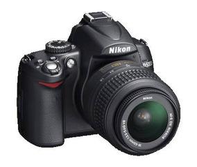 Camera Nikon D5000 - Ler A Descrição Antes De Comprar