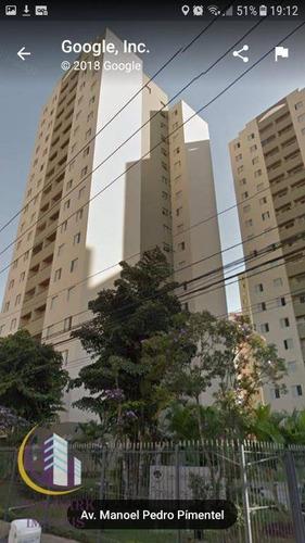 Imagem 1 de 19 de Apartamento 3 Dormitórios Com Armários, 01 Vaga De Garagem - Vila Yara - Osasco/sp - Ap0266