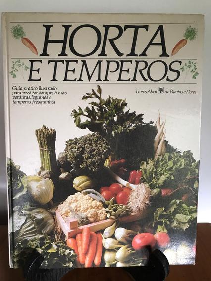 Livro Horta E Temperos- Culinária