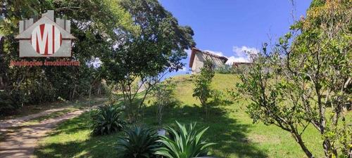 Imagem 1 de 30 de Linda Chácara Com 3 Dormitórios, Pomar, Jardim, Bem Localizada,  À Venda, 3600 M² Por R$ 280.000 - Zona Rural - Pinhalzinho/sp - Ch0945