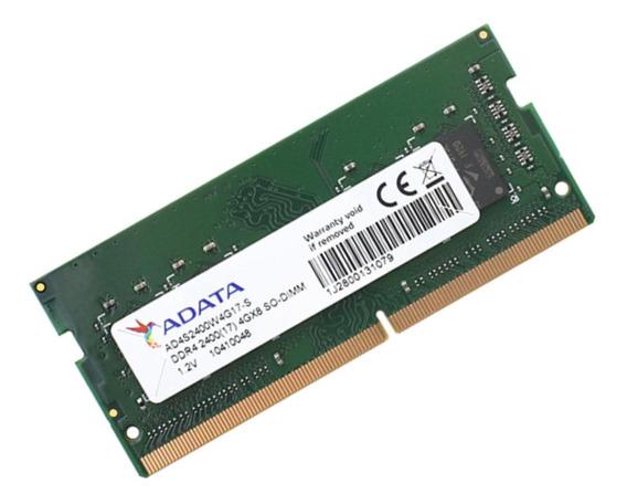 Memória RAM 4GB 1x4GB Adata AD4S2400W4G17-S