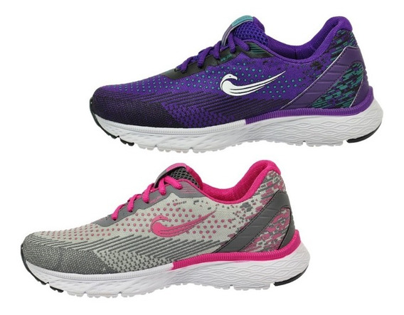 Tenis Casual Feminino Kit Com 2 Pares