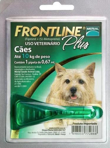 Antipulgas E Carrapatos Cães De 1 A 10 Kg P - Frontline Plus