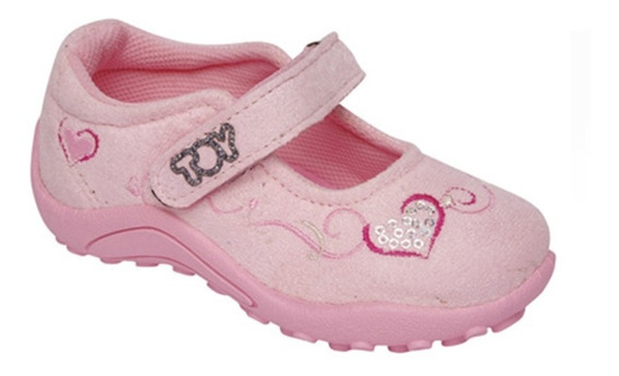 Zapatilla Guillermina Toy Rosa (talle 20 Al 26) Art 1252s