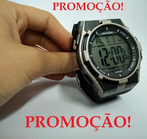 Relógio Masculino Digital Esporte Resistente Água *barato*