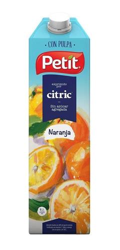 Jugo De Naranja Petit X 1lt