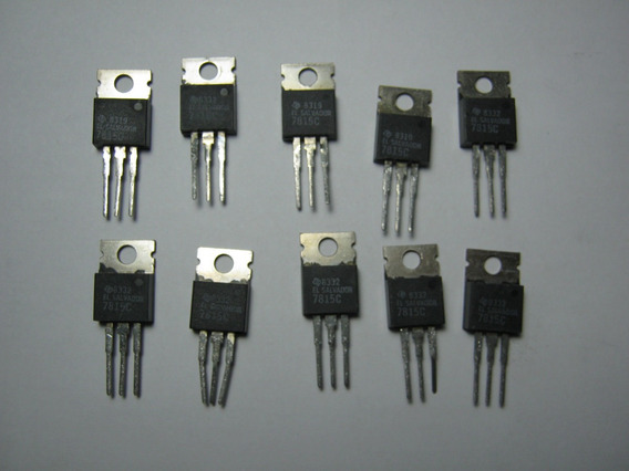 20 Pcs 7815 Lm7815c Regulador 15v