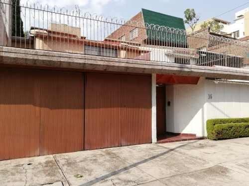 Venta Hermosa Casa En La Calle De Canadá, Coyoacán