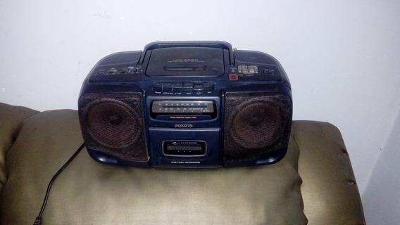 Radio Cd Portatil Aiwa P/ Peças Conserto Frete Grat