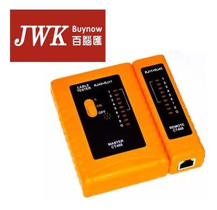 Tester Probador Cable De Red Rj45 Y Rj11 Adiye Jwk