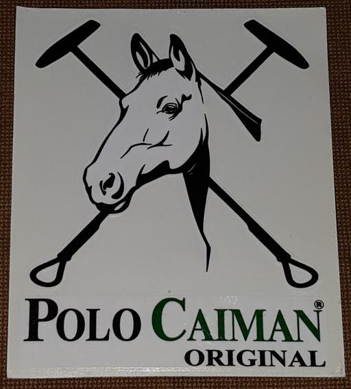 Polo Caiman Original - Adesivo