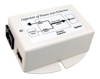 Inyector Poe 48v Dc Pasivo.35a 802.3af Vivotek Ms-poe-ijaf