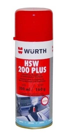 Ar Condicionado Limpo Com Spray Hsw Wurth Fácil Aplicação